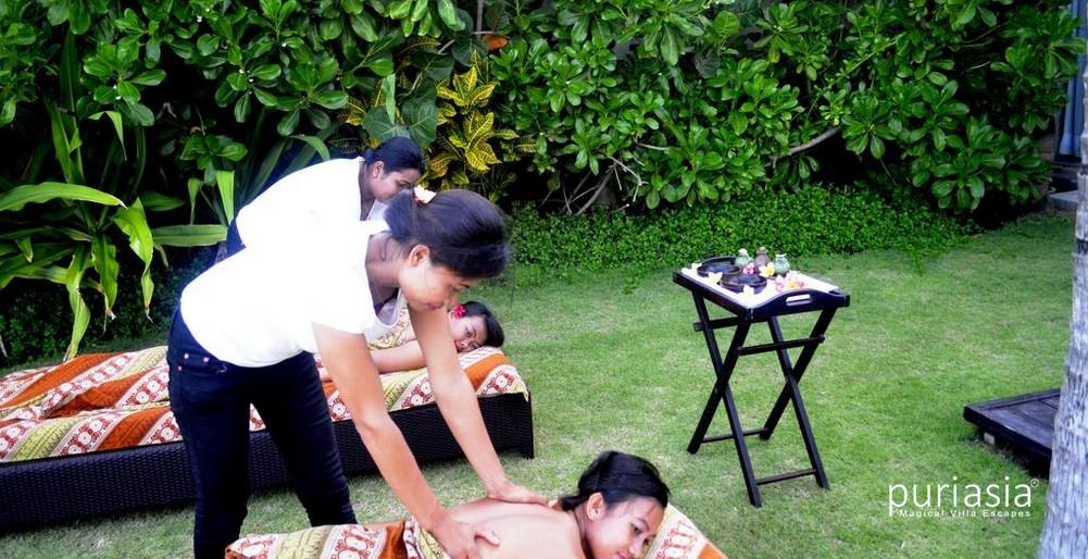Pandawa Beach Villas -Massage