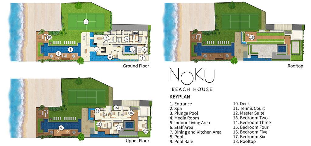 Noku Beach House – Beachfront Villa in Seminyak