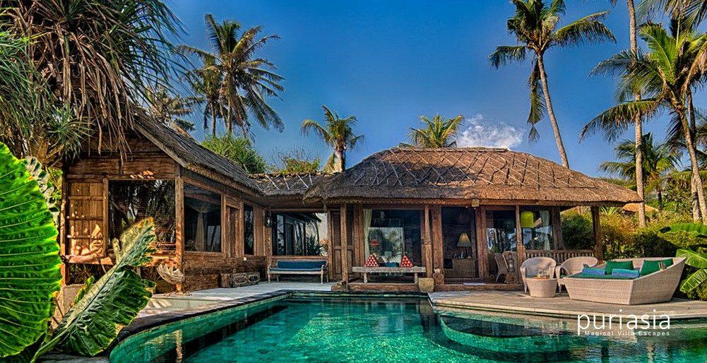 Puri Sejuk Villas Luxury Beachfront Villa Beach Bali Villas