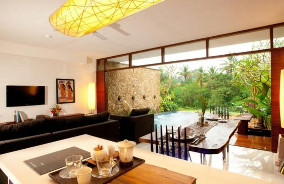 Ubud Green Villas - Living Room