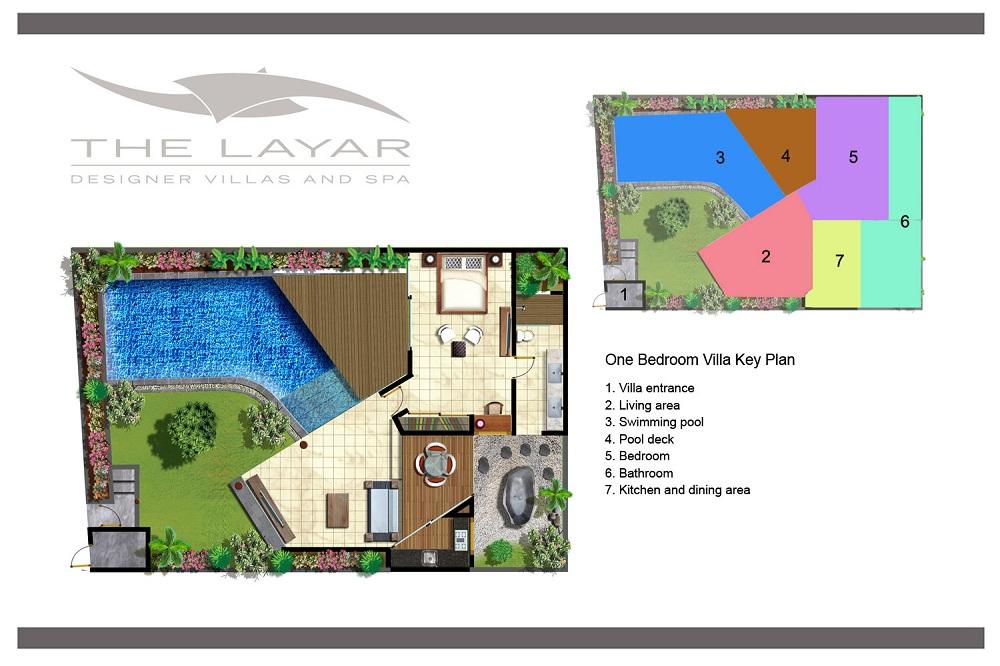The Layar One Bedroom Villas