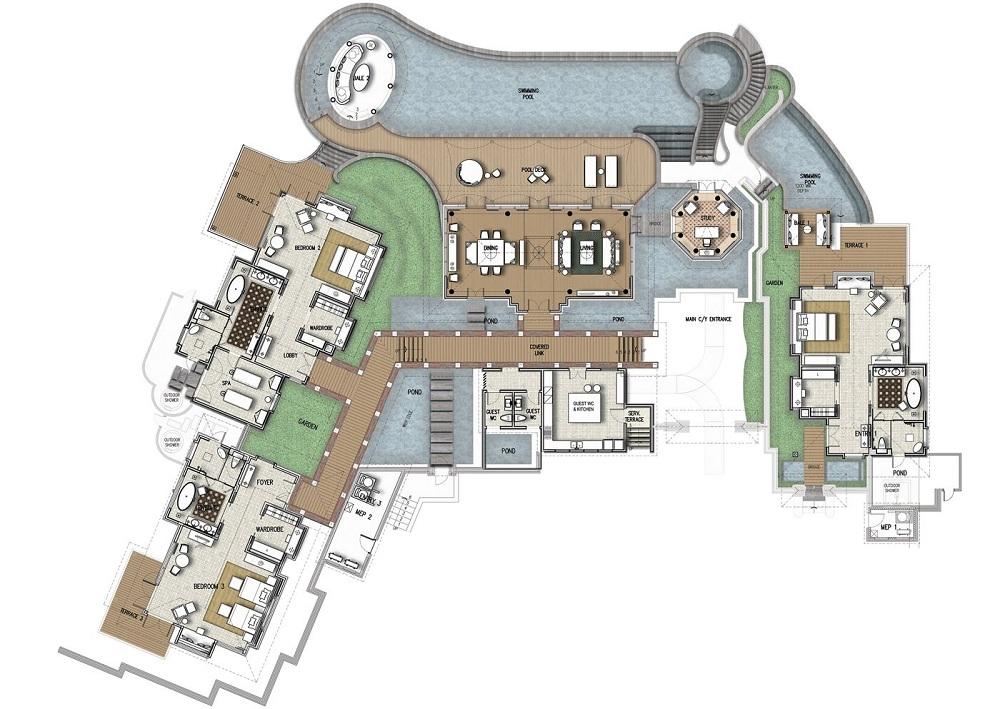Mandapa Three Bedrooms Pool Villa