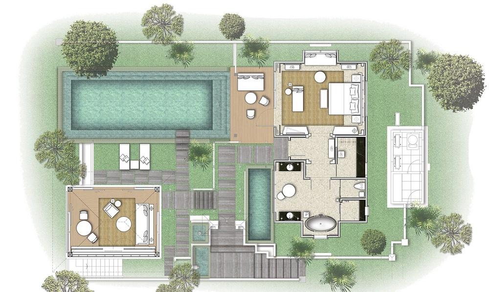 Mandapa River Front Pool Villa