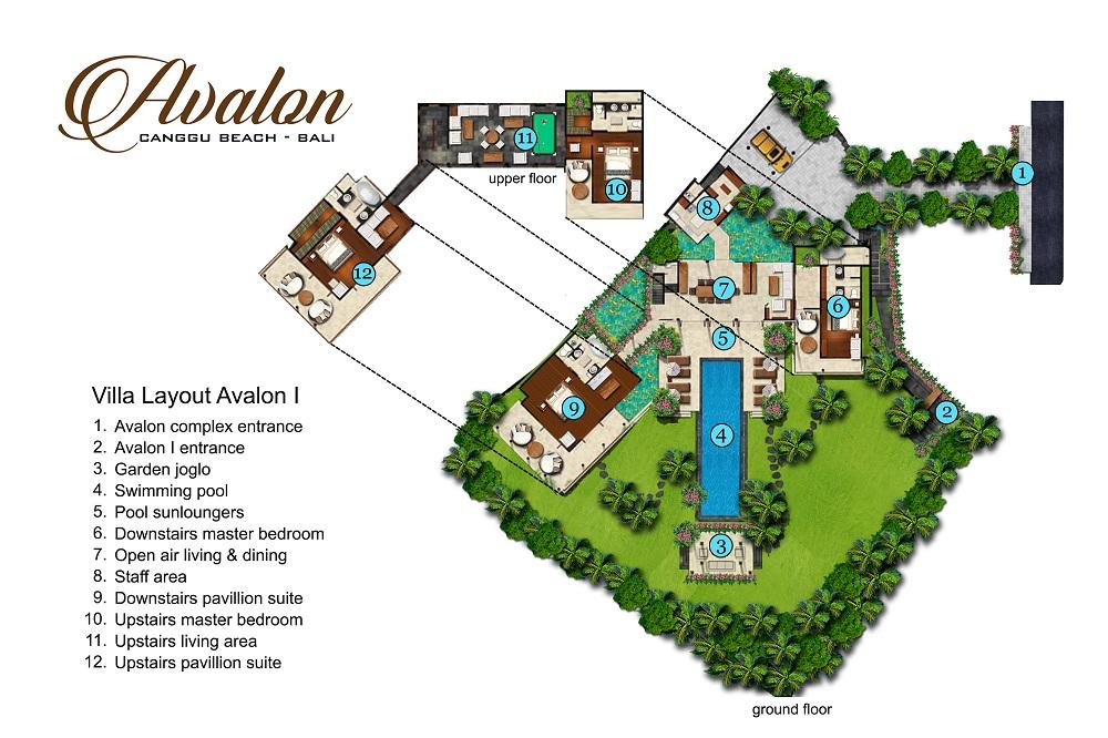 Villa Avalon I - Floorplan
