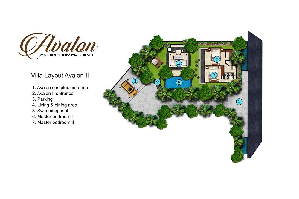 Villa Avalon II - Floorplan