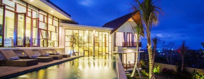 One Night at Jimbaran Sea View Villa