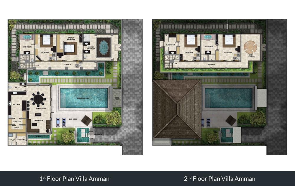 Villa Amman - Floorplan